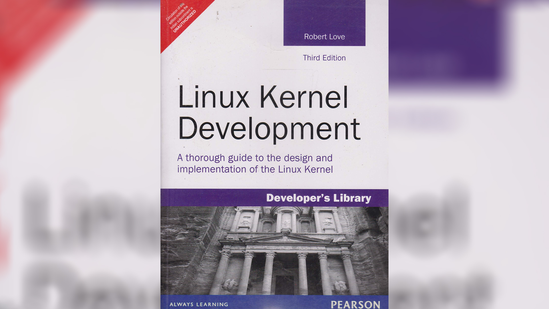تصویر جلد کتاب Linux Kernel Development